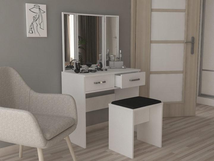 Toaletní stolek do každé ložnice